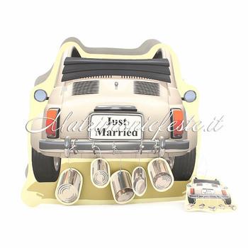 05edbaa551db Wedding Bag - Auto Just Married - Gadget e Accessori per Matrimoni