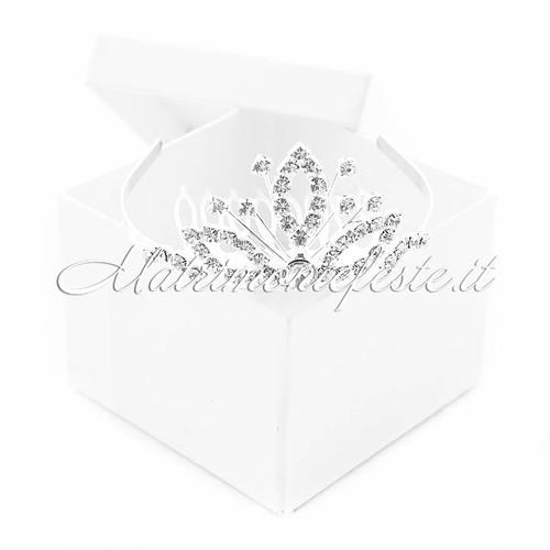 Mini tiara shabby chic accessori per capelli accessori per for Articoli shabby