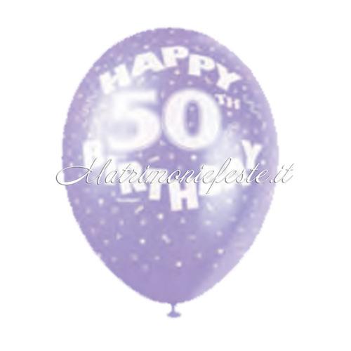 Palloncini Compleanno 50 Anni