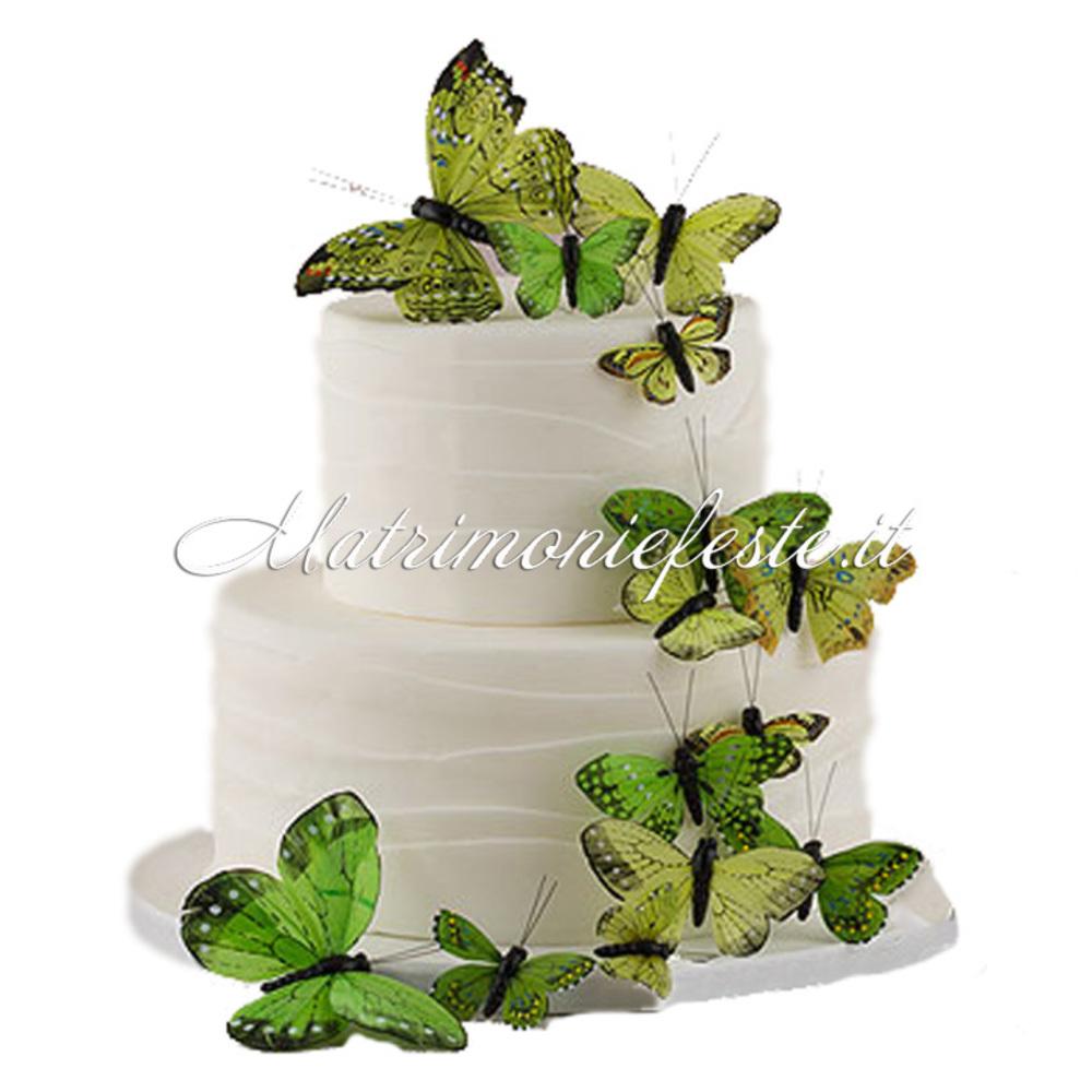 Favoloso Cake Topper - Farfalle Decorative (24 pz) | Articoli Addobbi e  PR16