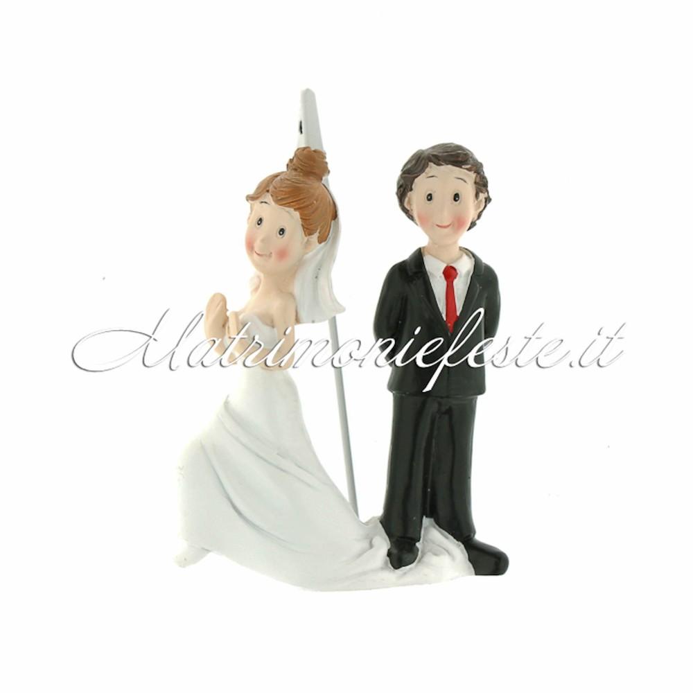 Segnaposto sposi spiritosi articoli addobbi e gadget for Sposa che corre